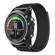 billiga Smart klocka Tillbehör-Klockarmband för Fenix 5x Fenix 3 HR Fenix 3 Garmin Milanesisk loop Metall Handledsrem