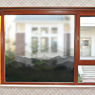 tanie סרטים ומדבקות לחלון-Folie okienne i naklejki Dekoracja Współczesny Inny PVC Naklejka okienna Matowy / a
