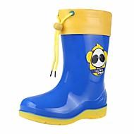 baratos Sapatos de Menino-Para Meninos / Para Meninas Sapatos Pele PVC Outono / Inverno Botas de Chuva Botas para Fúcsia / Azul Real