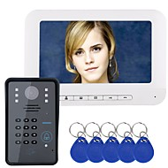 cheap -MOUNTAINONE Wired 7 inch Hands-free 480*234*3Pixel One to One video doorphone