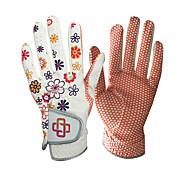 Χαμηλού Κόστους Γάντια του γκολφ-Ολόκληρο το Δάχτυλο Γυναικεία Διατηρείτε Ζεστό Φοριέται Αναπνέει Αντιολισθητικά Γκολφ Γάντι Δέρμα