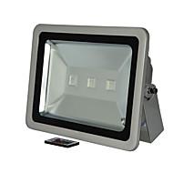 baratos Focos-1 pc 150 w led holofote luzes do gramado controle remoto dimmable à prova d 'água decorativa ao ar livre iluminação rgb 85-265 v
