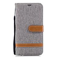 billiga Mobil cases & Skärmskydd-fodral Till Huawei P20 lite P20 Korthållare Plånbok med stativ Lucka Fodral Enfärgad Hårt PU läder för Huawei P20 lite Huawei P20 P10