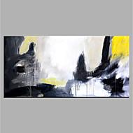 Χαμηλού Κόστους Υπερμεγέθη Ζωγραφιά-Hang-ζωγραφισμένα ελαιογραφία Ζωγραφισμένα στο χέρι - Αφηρημένο Μοντέρνα Καμβάς