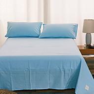 tanie Solid Duvet Okładki-Zestawy kołdra okładka Jendolity kolor Poly / Cotton 100% bawełna Reactive Drukuj 2 elementy
