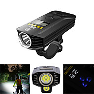 cheap -Front Bike Light Dual LED Cycling Remote Control / RC Professional Waterproof High Quality 1800lm Lumens Cycling / Bike - Nitecore