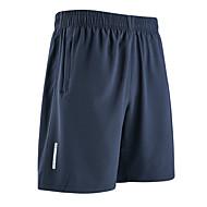 Hombre Shorts para senderismo Al aire libre Secado rápido Transpirabilidad Reductor del Sudor Shorts / Malla corta Prendas de abajo Ejercicio al Aire Libre Deportes Múltiples Negro Azul Marino Oscuro