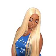 Αγνή Τρίχα Πλήρης Δαντέλα Περούκα Minaj στυλ Βραζιλιάνικη Ίσιο Ξανθό Περούκα 150% Πυκνότητα μαλλιών με τα μαλλιά μωρών Ξανθό Γυναικεία Κοντό Μεσαίο Μακρύ Περούκες από Ανθρώπινη Τρίχα Premierwigs