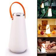cheap Flashlights & Camping Lanterns-Creative Wireless  Home Night Light Touch Switch Lanterns & Tent Lights LED 1 Mode Portable Camping / Hiking / Caving / Everyday Use White
