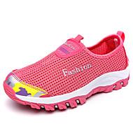 hesapli Dağ Yürüyüşü-Kadın's Ayakkabı PU Bahar / Sonbahar Atletik Ayakkabılar Dağ Yürüyüşü Düz Taban Dış mekan için Koyu Mavi / Mor / Gül Kırmızısı