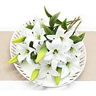 billige Kunstig Blomst-Kunstige blomster 1 Afdeling pastorale stil Liljer Bordblomst