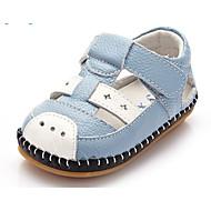 お買い得  男の子用靴-男の子 靴 レザー 夏 赤ちゃん用靴 サンダル のために ホワイト / イエロー / ライトブルー