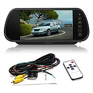 billiga Parkeringskamera för bil-ziqiao 7 tums färg tft lcd bil backspegel bildskärm auto bilparkering bakre bildskärm för omvänd kamera