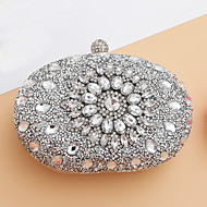 cheap Bags-Women's Bags Evening Bag Crystal Detailing for Wedding Event / Party All Seasons Blue Gold Black Silver Red