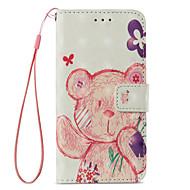 billiga Mobil cases & Skärmskydd-fodral Till Apple iPhone X / iPhone 8 Plus Plånbok / Korthållare / med stativ Fodral Djur Hårt PU läder för iPhone X / iPhone 8 Plus / iPhone 8