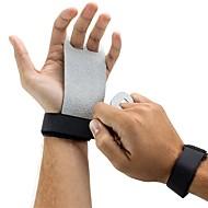 baratos Equipamentos & Acessórios Fitness-Material de Protecção / Aperto de mão / Suporte de Mão & Punho Com 2 pcs couro legítimo Proteção Leve, Treinamento, Antiderrapante Para Exercício e Atividade Física / Ginásio / Ginástica Unisexo