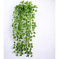 פרחים מלאכותיים 1 ענף סגנון מינימליסטי פסטורלי סגנון צמחים פרחים לקיר