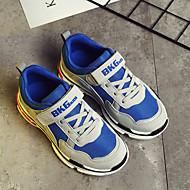 baratos Sapatos de Menino-Para Meninos Sapatos Borracha Primavera Conforto Tênis para Vermelho / Khaki / Azul Real