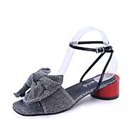 Žene Cipele Guma Ljeto Udobne cipele Sandale Ravna potpetica za Vanjski Zlato Crn Pink