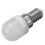 billige Stearinlyslamper med LED-1pc 2W 250-280lm E14 LED-lysestakepærer LED-globepærer 6pcs LED perler SMD 2835 Dekorativ Varm hvit Kjølig hvit 220V-240V