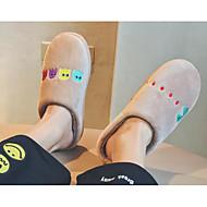 baratos Sapatos Masculinos-Homens Tecido Outono / Inverno Conforto Chinelos e flip-flops Cinzento / Café