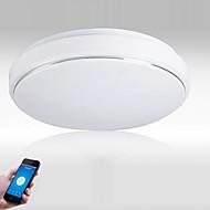 billiga Belysning-JIAWEN Takmonterad Fluorescerande Plast Ögonskydd, WIFI-kontroll Växelström 110-240 V Varmt vit / Kall vit LED-ljuskälla ingår / Integrerad LED