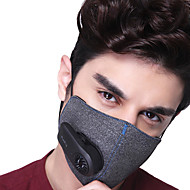 billige Balaclavas og ansiktsmasker-Xiaomi Ansiktsmaske Alle årstider Oppladbar Pustende Lettvekt Avslappet Utendørs Trening Sykkel Unisex Bomull Polyester Ensfarget