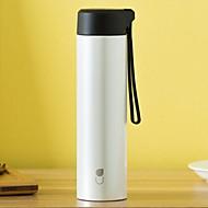 billiga Dricksglas-Dryckes Kiselgel / Rostfritt stål / PP+ABS vakuum Cup Bärbar / värmelagrande 1pcs