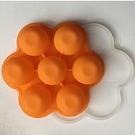 tanie Formy do ciast-Narzędzia do pieczenia żel krzemionkowy Kreatywny gadżet kuchenny Czekoladowy / Lód / dla owoców Pieczątka i zdrapak 1szt