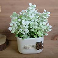 billige Kunstig Blomst-Kunstige blomster 1 Afdeling Rustikt Planter Bordblomst