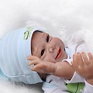 Reborn Dolls Lány babák 20hüvelyk Szilikon Uniszex Gyerek Ajándék