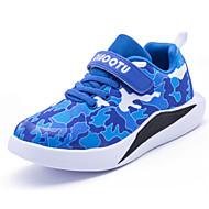 baratos Sapatos de Menino-Para Meninos Sapatos Malha Respirável Outono Conforto Tênis para Preto / Vermelho / Azul