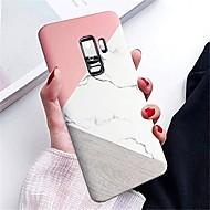 billiga Mobil cases & Skärmskydd-fodral Till Samsung Galaxy S9 S9 Plus IMD Skal Marmor Hårt PC för S9 Plus S9