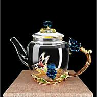 ieftine Pahare-Drinkware Sticlă de bor înalt Apă potabilă și ceainic Desene Animate / cadou iubit / cadou prietena 1pcs
