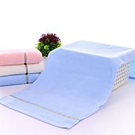 billige Hjemmetekstiler-Overlegen kvalitet Vaskehåndklæ, Ensfarget Polyester / Bomull Baderom