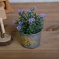 billige Kunstig Blomst-Kunstige blomster 1 Afdeling Rustikt Tusindfryd Bordblomst