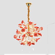 billige Takbelysning og vifter-QIHengZhaoMing Sputnik Lysekroner Omgivelseslys - Krystall, 110-120V / 220-240V, Varm Hvit, Pære Inkludert / G4 / 15-20㎡