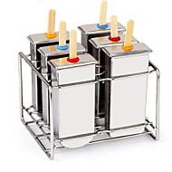 billige Bakeredskap-Bakeware verktøy Rustfritt stål Kreativ Is / kjærlighet på pinne Spesialitetsverktøy 1pc