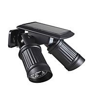 billiga Belysning-BRELONG® 1st 1 W Vägglampa Vattentät / Sol / Infraröd sensor Varmvit / Vit 5.5 V Utomhusbelysning / Gård / Trädgård 14 LED-pärlor