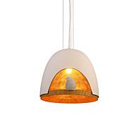זול -קערה מנורות תלויות תאורה כלפי מטה - יצירתי, 110-120V / 220-240V נורה אינה כלולה / 5-10㎡ / E26 / E27