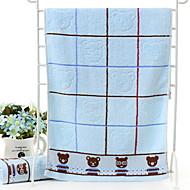 billiga Handdukar och badrockar-Överlägsen kvalitet Tvätt handduk, Geometrisk / Tecknat Polyester / Bomull Blandning 1 pcs