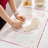 billige Bakeredskap-Bakeware verktøy Silikongel Multifunksjonell / Kreativ Kjøkken Gadget Brød Baking Mats & Liners 1pc