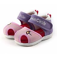 baratos Sapatos de Menino-Para Meninos / Para Meninas Sapatos Tule Verão Primeiros Passos Sandálias para Bébé Vermelho Claro / Rosa claro / Rosa e Branco