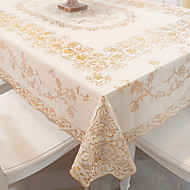 cheap Table Linens-Contemporary Square Table Cloth Geometric Table Decorations 1 pcs