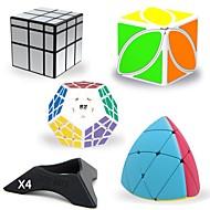 Rubiks terning 8 stk QIYI B Alien MegaMinx Ivy Cube 3*3*3 5*5*5 Let Glidende Speedcube Magiske terninger Rubiks kuber Puslespil Terning Professionelt niveau Kontor Skrivebord Legetøj Vand resistent