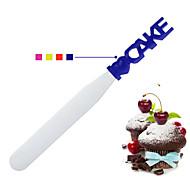 Χαμηλού Κόστους Σπάτουλες ψησίματος & ζαχαροπλαστικής-Εργαλεία ψησίματος Ανοξείδωτο Ατσάλι Δημιουργικό για κέικ Baking & Ζαχαροπλαστικής Σπάτουλες 1pc