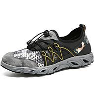 baratos Sapatos Masculinos-Homens Sapatos Confortáveis Sintéticos Outono Tênis Tênis Anfíbio Cinzento / Khaki