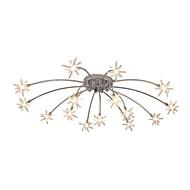 billige Taklamper-JLYLITE Takplafond Omgivelseslys galvanisert Metall Glass Mini Stil 110-120V / 220-240V Pære Inkludert / G4 / SAA / FCC / VDE