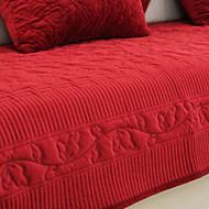billige Overtrekk-Sofatrekk Ensfarget Reaktivt Trykk Polyester slipcovere