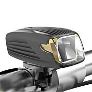 billige Sykkellykter og reflekser-Frontlys til sykkel LED Sykkellykter Sykling Vanntett, Bærbar, Reise Størrelse Oppladbart Li-ion Batteri / USB 400 lm Oppladbar / Oppladsbare batterier Hvit Camping / Vandring / Grotte Udforskning